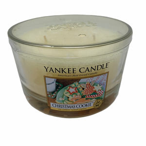 Yankee Candle CHRISTMAS COOKIE 3 Wick